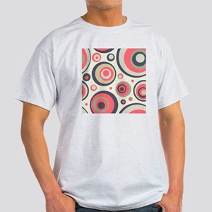 Retro Circles Light T-Shirt