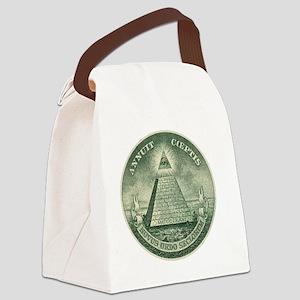 Illuminati Canvas Lunch Bag