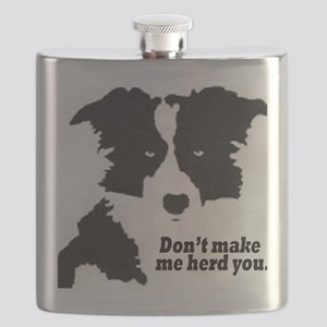 Don't Make Me Herd You Flask