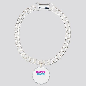 Happy Days Charm Bracelet, One Charm