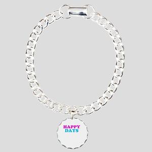 Happy Days Charm Bracelet, One Charm