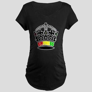 EMPRESS RASTA Maternity Dark T-Shirt