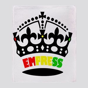 EMPRESS RASTA Throw Blanket