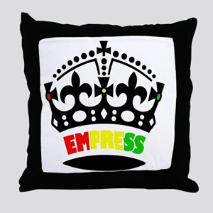 EMPRESS RASTA Throw Pillow