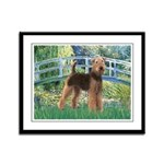 Bridge - Airedale #6 Framed Panel Print