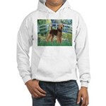 Bridge - Airedale #6 Hooded Sweatshirt