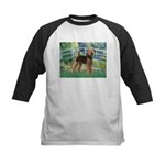Bridge - Airedale #6 Kids Baseball Jersey