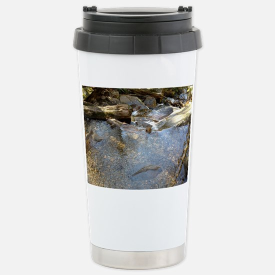 Calm Waters Stainless Steel Travel Mug