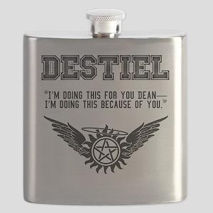 Destiel Quote Series #3 Flask