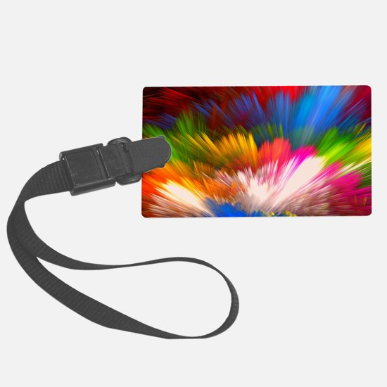 Abstract Clouds Large Luggage Tag