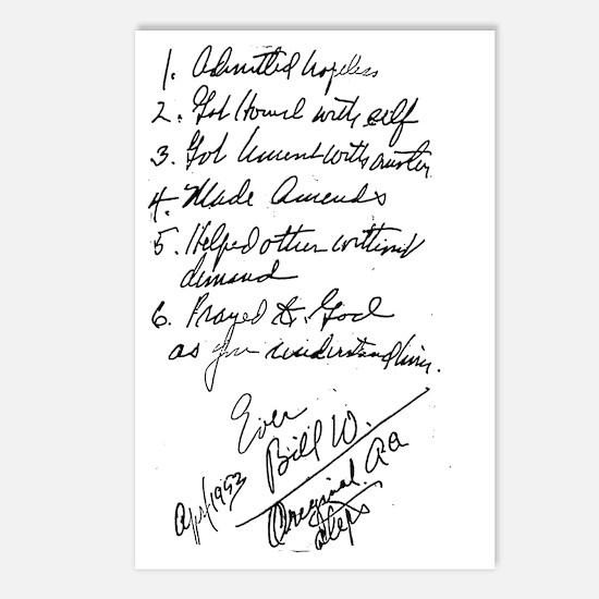 Bill W Original Steps Postcards (Package of 8)