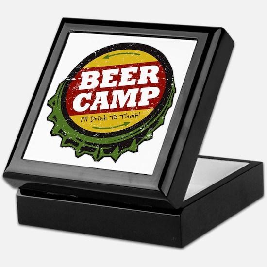 Beer Camp Keepsake Box