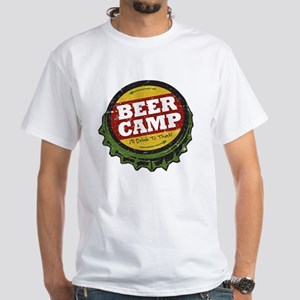 Beer Camp White T-Shirt