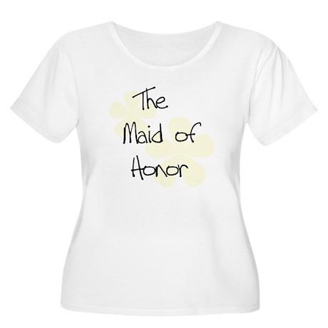 Maid Honor Yellow Women's Plus Size Scoop Neck T-S