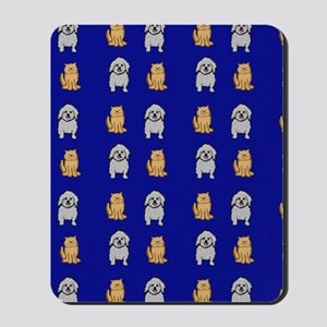 Cute Cats and Dogs Mousepad