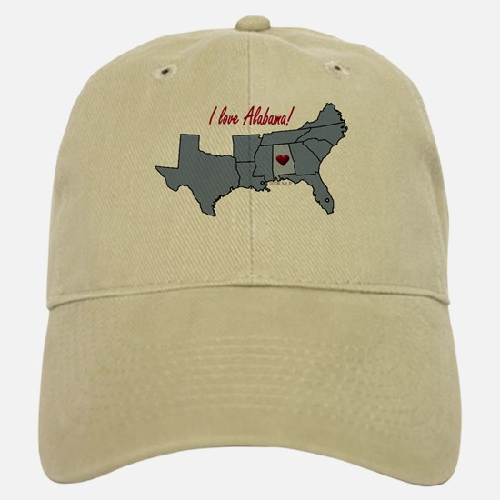 Alabama-South Baseball Baseball Cap