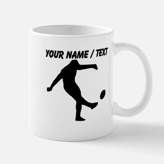 Custom Rugby Kick Mugs