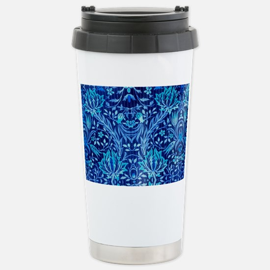 Floral fabric design BL Stainless Steel Travel Mug