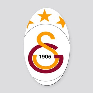 Galatasaray Oval Car Magnet