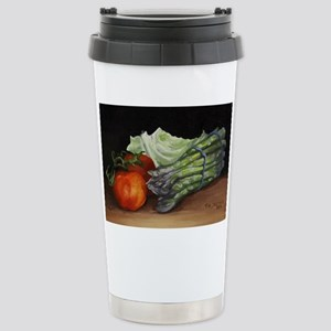 Still Life Tomato Cabba Stainless Steel Travel Mug