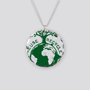 Reduce Necklace Circle Charm