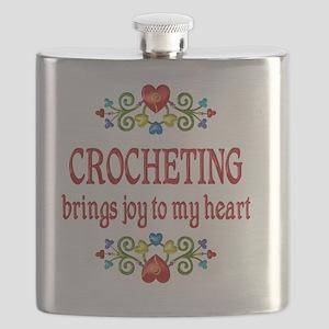 Crocheting Joy Flask