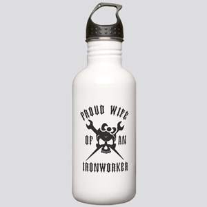 IRONWORKER WIFE LOGO B Stainless Water Bottle 1.0L