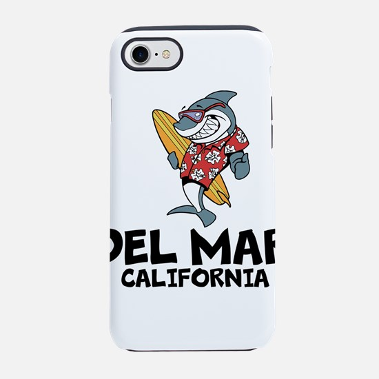Del Mar, California iPhone 7 Tough Case