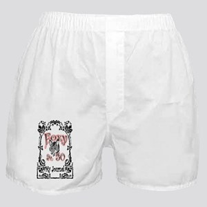 Foxy at 50 JRNL Boxer Shorts