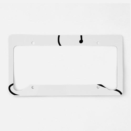 hanger License Plate Holder