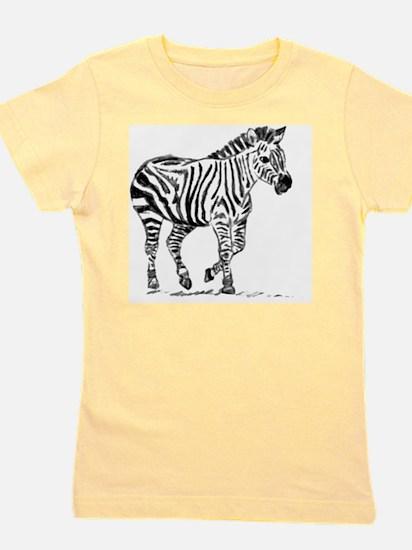 Zebra Girl's Tee