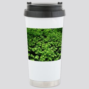 Textile + Nature = Text Stainless Steel Travel Mug