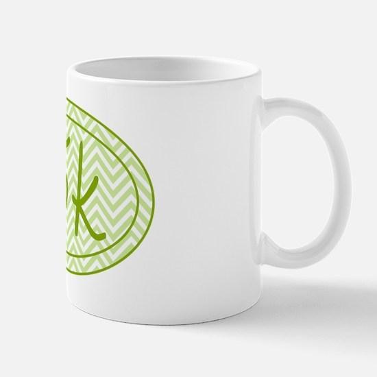 15k Green Chevron Mug