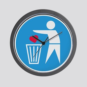 garbage_can Wall Clock