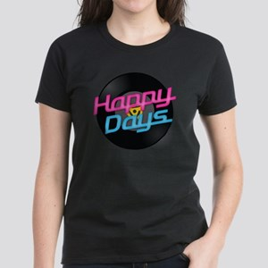 Happy Days Women's Dark T-Shirt