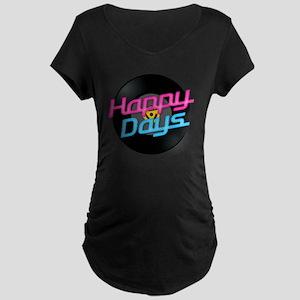 Happy Days Maternity Dark T-Shirt