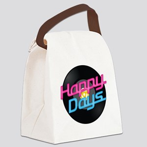 Happy Days Canvas Lunch Bag