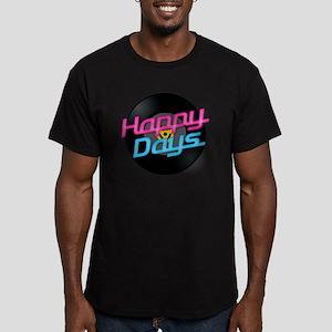 Happy Days Men's Fitted T-Shirt (dark)