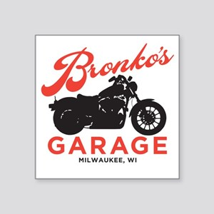 "Bronkos Square Sticker 3"" x 3"""