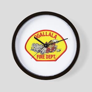 Ogallala Fire Dept Wall Clock