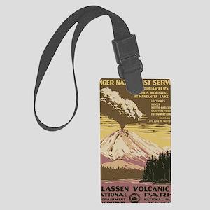 Lassen Volcanic National Park Vi Large Luggage Tag