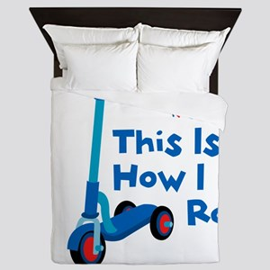 This Is How I Roll Queen Duvet