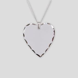 Vintage Forbidden Planet Robo Necklace Heart Charm