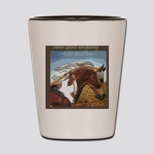 Spirit of the Horse Shot Glass