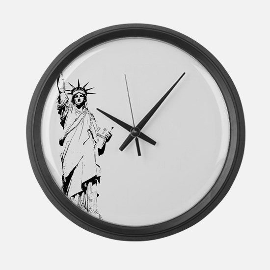Government is not your Mother Large Wall Clock