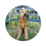 Bridge - Airedale #6 Ornament (Round)