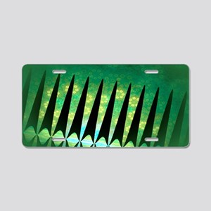 Garden Gate Cat Forsley Des Aluminum License Plate