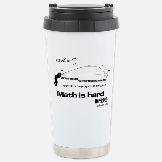 Math Is Hard Stainless Steel Travel Mug