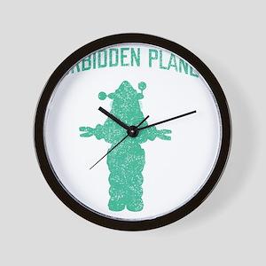 Vintage Forbidden Planet Robot Wall Clock