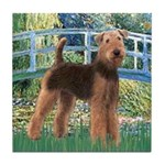 Bridge - Airedale #6 Tile Coaster